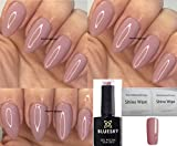 BLUESKY Romance Dusky Pink, Light Mauve Marke neuen Sommer 2018 Farbe Nagellack-Gel UV-LED-Soak Off 10 ml plus 2 homebeautyforyou Shine Tücher