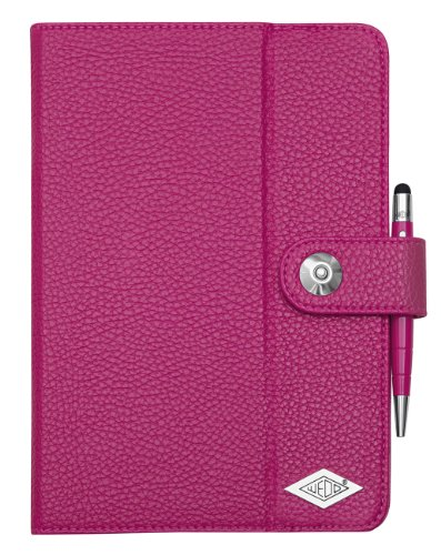 Preisvergleich Produktbild Wedo 5807909 iPad Mini Case TrendSet (mit Touch Pen 2-in-1) fuchsia