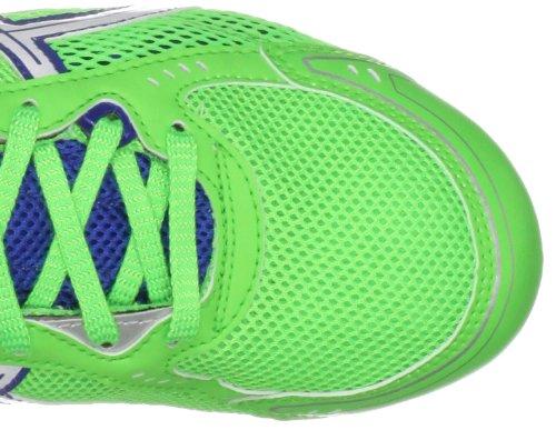 Asics Hyper ES, Scarpe da Corsa Bambino Verde (Neon Green/White/Blue)