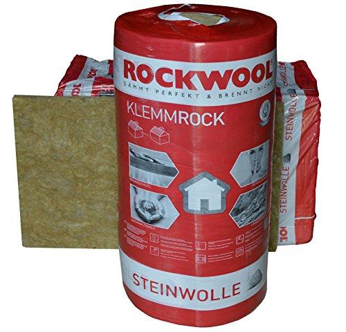 Rockwool Klemmrock 140mm 3,5qm Dachdämmung Klemmfilz Isolierung WLG 0,35