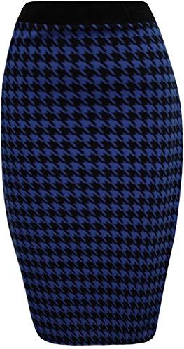 Generic - Jupe - Crayon - Femme Multicolore Bigarré Taille Unique Bleu