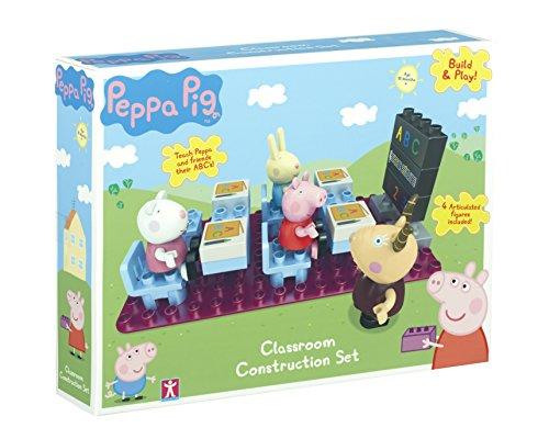 Peppa Pig Build & Play - El Aula - 4 mini figuras Conjunto de la construcción