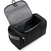 Sacchetto di lavaggio da viaggio per bagagli per uomini e donne nero