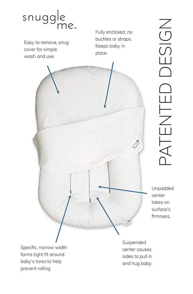 YANGGUANGBAOBEI The All In One Baby Lounger,100% Cotton Swaddling Wrap - Breathable And Hypoallergenic Toddler Newborn Co-Sleeping Lounger Bed,Purple YANGGUANGBAOBEI [Portable and MuIti-functional] New Firmer Sides help to narrow down space in the pram as well as the crib for lounging on the floor or the couch. [100% cotton and Antiallergenic] Made of 100% cotton, antiallergenic, light - breathable polyester fibre which won't change its properties after repeated washes. [Grows with your baby] Adjustable with two straps for size regulation, two-sided means the arrangement of colours may be changed. 8