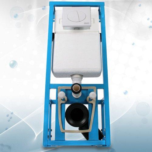 WC-Vorwandelement Spülkasten mit guter Schallisolierung, weiß