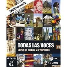 Todas las Voces (Nueva Edición) - Libro del alumno + CD + DVD (Ele - Texto Español)