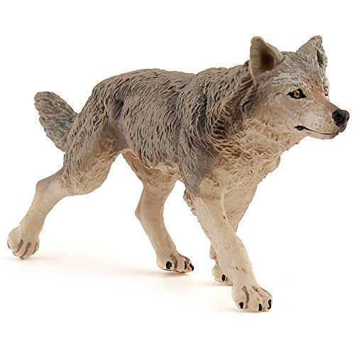 Papo - 53012 - Figurine - Animaux - Animal - Louve - Grise