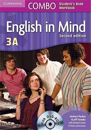 English in Mind 2nd  3 Combo A with DVD-ROM - 9780521279789