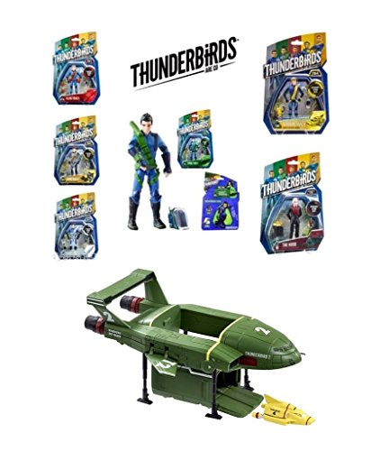 Thunderbirds Are Go! Action Figures Lot of 6 + 2 for FREE TB2 TB4 in Blister