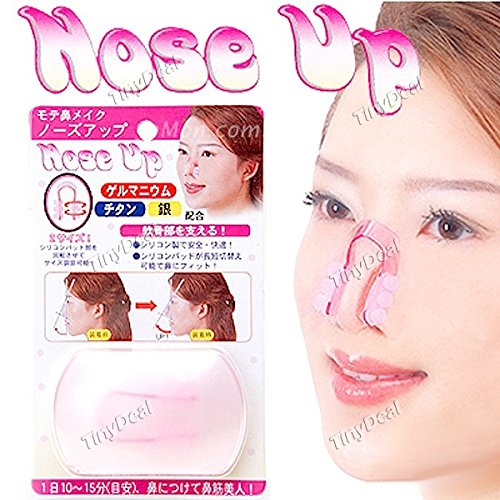 Tiny-Deal-Magic-Plastic-Nose-Up-Clip-For-Women-Assorted-Color