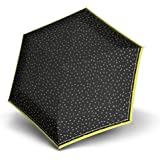 Knirps Travel Taschenschirm 17 cm flakes black
