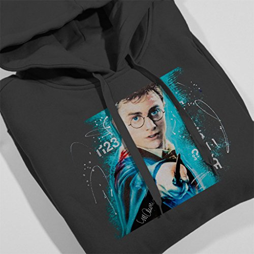 Sidney Maurer Daniel Radcliffe Harry Potter Official Women's Hooded Sweatshirt Anthracite