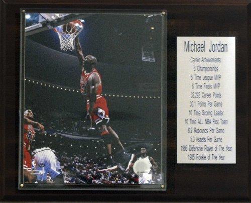 C & I Collectables NBA Michael Jordan Chicago Bulls STAT Plaque