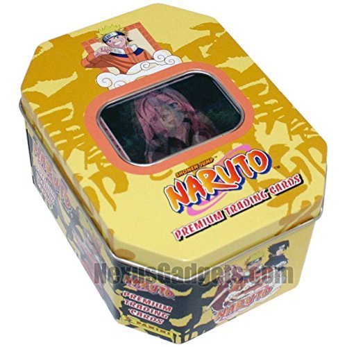 '06 Naruto Anime Collector Tin