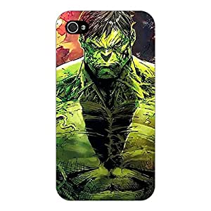 Jugaaduu The Incredible Hulk Back Cover Case For Apple iPhone 4S