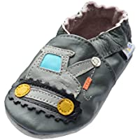 Jinwood designed by amsomo Verschiedene Modelle - Hausschuhe - Echt Leder - Lederpuschen - Krabbelschuhe - Mädchen - Jungen - Soft Sole/Mini Shoes Div. Groeßen 17/19-35/36