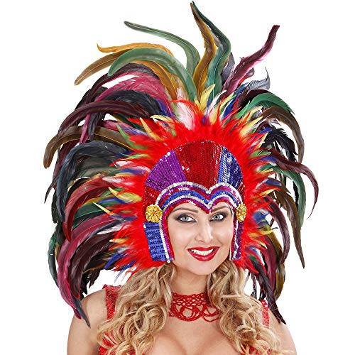 Widmann Brésiliens plumes colorées Tropicana coiffure