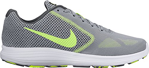 Nike Revolution 3, Chaussures de Fitness Homme Gris (Stealth/volt-anthracite-white)