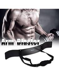 Yosoo Isolateur de Biceps pour Musculation avec Haltères Biceps Isolateur Blaster Barre d'haltères de Levage de Poids