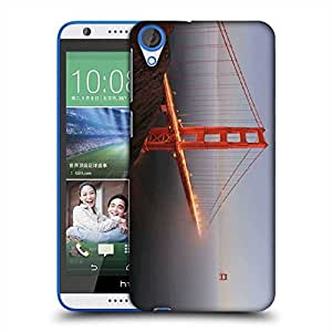 Snoogg Smog In Sealing Designer Protective Phone Back Case Cover For HTC Desire 820
