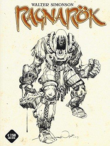 L'ultimo dio. Ragnarok. Variant cover: 1