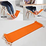 #10: Generic New Portable Mini Office Foot Rest Stand Desk Feet Hammock Easy to Disassemble Home Study Library Outdoor