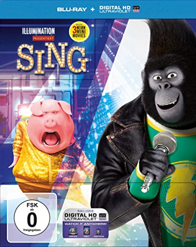 Sing (2D) Limited Steelbook [Blu-ray] [Limited Edition]