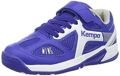 Kempa Unisex-Kinder Fly High Wing Junior Handballschuhe, Mehrfarbig (01), 32 EU