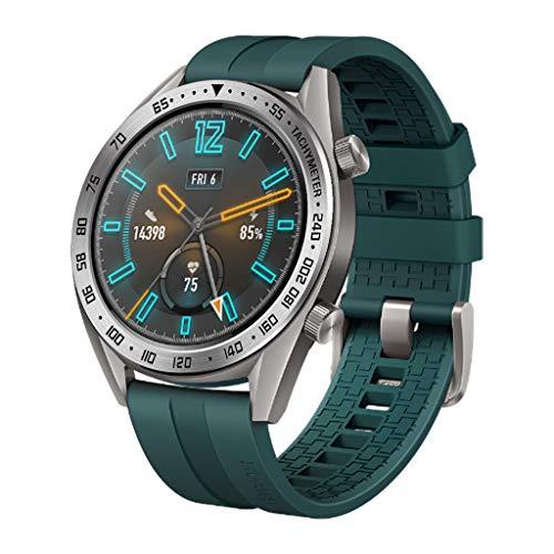 Chshe❤❤, Metall-Lünette Anti-Scratch-Lünette-Aufkleber-Ring Für Huawei Gt/Active 46Mm Watch, Schwarzer Edelstahl-Uhrenschutz (Splitter) -