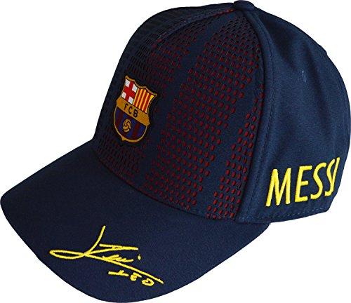 Mütze Barça–Messi, offizielle Kollektion des FC Barcelona, einstellbare Kindergröße (Trikot Barcelona Lionel Messi)