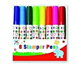 Anker Kids Create Arts and Crafts Stamper Pens, Plastic, Assorted Colour, Pack of 8