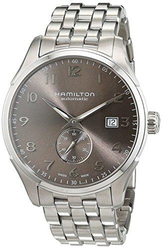 Hamilton–Reloj de pulsera analógico para hombre (tamaño XL Automático Acero inoxidable h425150