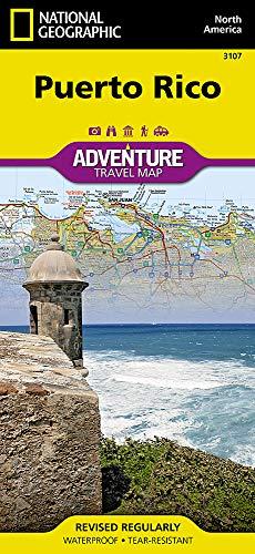 Puerto Rico: NATIONAL GEOGRAPHIC Adventure Maps (Puerto Rico Landkarte)