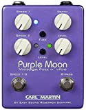 Carl marin violet moon analogique dual speed vibe pédale overdrive avec fuzz/pile) 9 v
