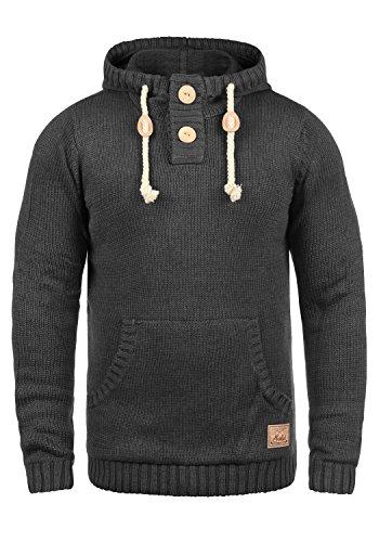 SOLID Pit Men's Hoodie, size:XL;colour:Dark Grey Melange (8288)