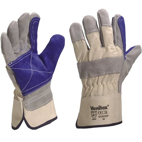 1-x-pair-venitex-top-quality-cowhide-leather-grey-docker-work-safety-gloves-one-size