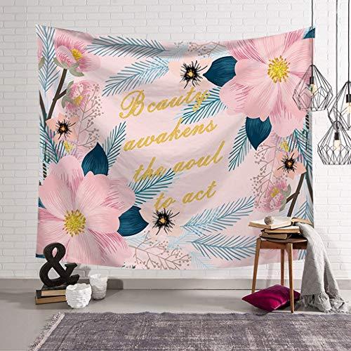 SMBYLL Galaxy Gobelin Nacht Stern Gobelin Polyester Stoff Gobelin Schlafgemach Schlafzimmer Dekor Tapisserie (Farbe : B, größe : 95x73) -
