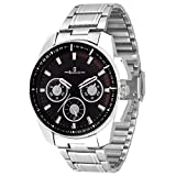 Geonardo Bravo Black Dial Chain Watch Fo...