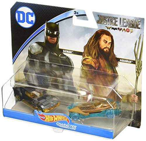 Hot Wheels FFV13 Justice League Fahrzeug (Wheels Hot Dekorationen)