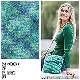 CREATIV DISCOUNT® Filzwolle Color, 50g, Fb. 38, Aqua Multicolor