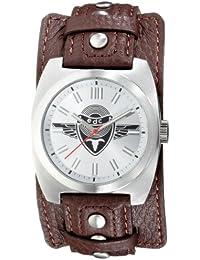 EDC Herren-Armbanduhr Analog Quarz Leder EE100041001
