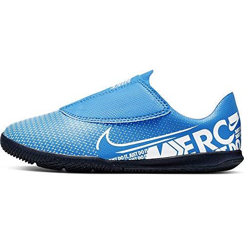 Nike Jr. Mercurial Vapor 13 Club IC, Botas de fútbol Unisex niño, (Blue Hero/White/Obsidian 414), 30 EU