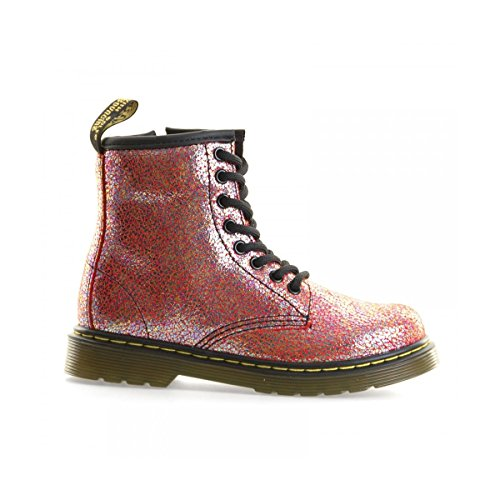 Dr. Martens Delaney, Derby Mixte Enfant Rose