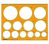 Jumbo Kreis-Schablone Entwurf und Design-Vorlage Stencil Symbole Template