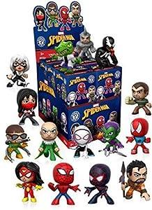 Funko Misterio Mini Spiderman Classic un Misterio Figura Figura de acción