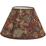Lamp shades buy lamp shades online at low prices in india amazon casa decor hand embroidery hazel lampshade living room bedroom study dining room decor aloadofball Choice Image
