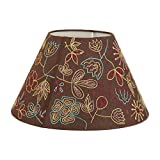Casa Decor Hand Embroidery Hazel Lampshade Living Room, Bedroom, Study, Dining Room Decor Lighting