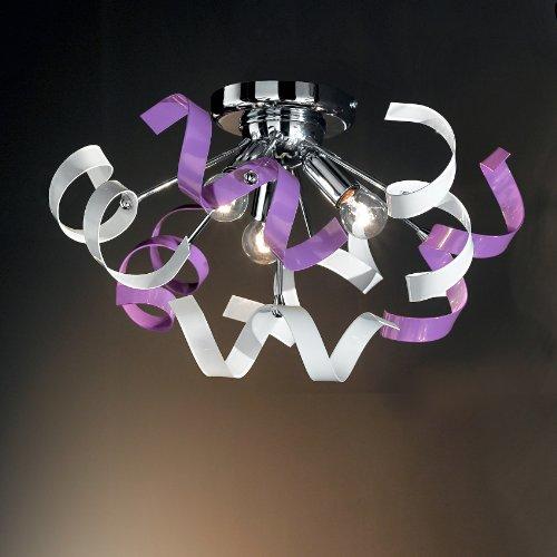 Plafoniera A Soffitto Design A 3 Luci