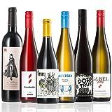 GEILE WEINE Weinpaket FLEISCH UND FISCH (6 x 0,75l) Weisswein, Rosé und Rotwein für das nächste Abendessen