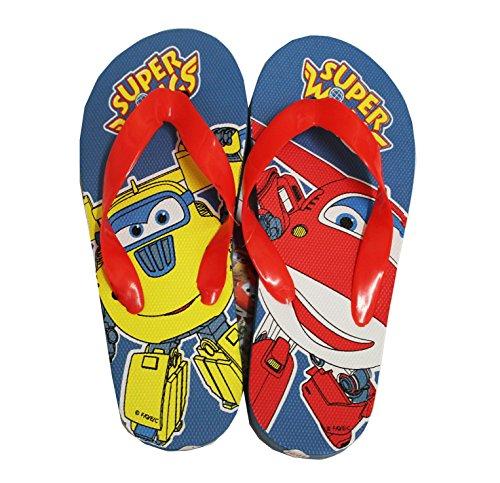 Für Tinkerbell Schuhe Kinder (Cerda Super Wings Jungen Flip Flops Zehentreter (28/29,)